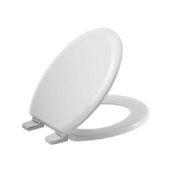 Toliet Seat Cover White Golf